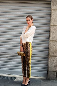 These pants!! <3 Animalier http://instagram.com/style.bloggers