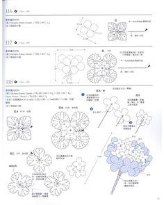 Best 12 lo spazio di lilla: Bouquets di fiori all'uncinetto con schemi / bouquets of crochet flowers with charts Crochet Diagram, Crochet Chart, Love Crochet, Irish Crochet, Crochet Motif, Crochet Doilies, Crochet Lace, Crochet Stitches, Crochet Flower Tutorial