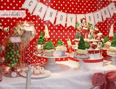 Christmas time has come: Christmas Candy Bar // Sweet Table 2012 | niner bakes