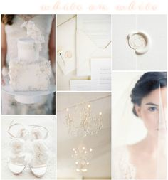 White on White Wedding Inspiration: Colour Ideas White Wedding Cakes, Beautiful Wedding Cakes, Wedding Trends, Wedding Ideas, Unique Weddings, White Weddings, Wedding Table Centerpieces, Wedding Colors, Wedding Inspiration