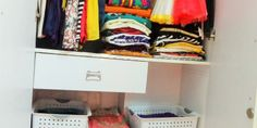 Organization: How to Organize Small Closet -Tips and Tricks.