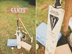 Games for the guests while the bridal party is photographed