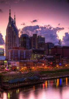 Nashville, TN sunset
