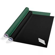 Tafelfolie Set selbstklebend | 60x300cm | inkl. Kreide | zwei Farben wählbar (schwarz): Amazon.de: Küche & Haushalt
