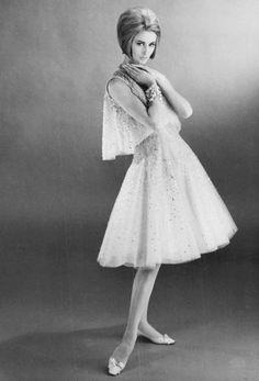 Parigi, l'alta moda ieri e oggi Christian Dior 1961.