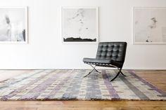 Città - a carpet inspired by a city's skyline | 8' by 10' #Handmade #Luxury #Carpet