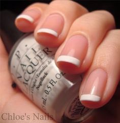 Chloe's Nails: French