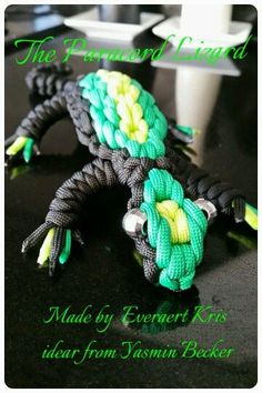 The Paracord Lizard: