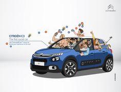Citroën obtiene factor diferencial con su conectividad a redes y sus web cams @alvarodabril
