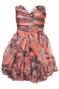 Rose Puffball Dress by Rare Opulence