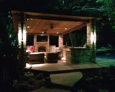 Dallas Landscape Lighting electricians design & install outdoor lighting systems & install back up generators, wire outdoor kitchens/arbor electric Outdoor Light Fixtures, Modern Light Fixtures, Outdoor Lighting, Kitchen Installation, Light Installation, Led Wall Sconce, Wall Sconces, Lighting System, Lighting Ideas
