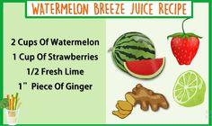 Watermelon Breeze Juice Recipe  #Juice #Recipe #Health