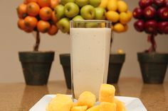 Great #healthyrecipe for a yummy #proteinshake.  Love all the health benefits like helps in digestion and increases sex drive.  And you can't go wrong with coconut and mango, so yummy.  Great for #post-workout shake or #healthysnack.