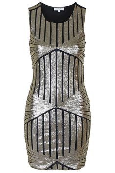 **Diamond Sequin Bodycon Dress by WYLDR - Topshop