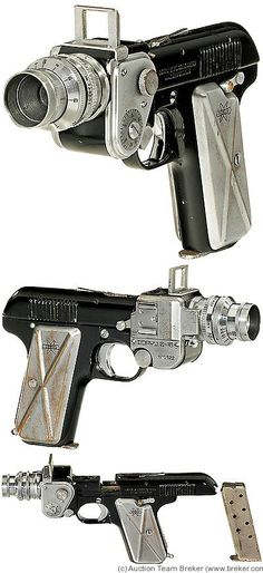 Spy camera made like a gun