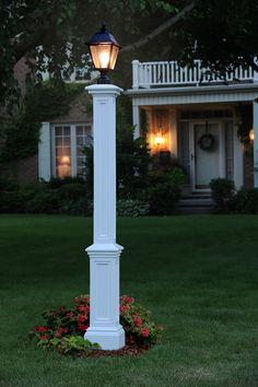 Signature White Lamp Post Without Mount Mayne Post Outdoor Post Lighting Outdoor Lighting Exterior Lighting, Outdoor Lighting, Outdoor Decor, Landscape Lighting, Driveway Lighting, Lighting Ideas, Yard Lighting, Outdoor Lamps, Solar Lamp Post
