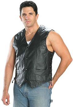 Special Offers - Classic Stye 201L Mens Leather Side Lace Vest  Medium - In stock & Free Shipping. You can save more money! Check It (September 21 2016 at 09:08AM) >> http://motorcyclejacketusa.net/classic-stye-201l-mens-leather-side-lace-vest-medium/