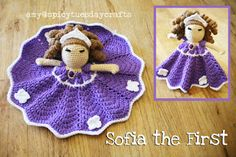 spicy+tuesday+crafts:+Sofia+the+First+Blanket+Buddy+-+Free+notes