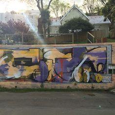 @humanwreck_ at sunset. #graffiti