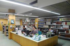 Biblioteca Les Corts - Miquel Llongueras (Les Corts, Barcelona) barcelona_corts_05 | Flickr: Intercambio de fotos