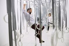 An exhibition in Frankfurt tracks the choreographer's other art: the installation.