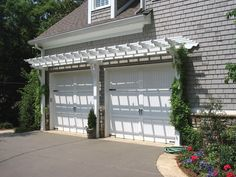 Pergolas Over Garage On Pinterest Garage Pergola