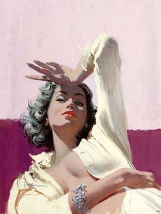 Robert McGinnis 1959 'The Girl Who Kept Knocking Them Dead' by x-ray delta one, via Flickr