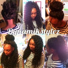 Full versatile crochet Freetress Deep Wave
