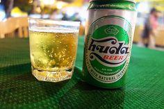 Huda Beer in Hue , Vietnam