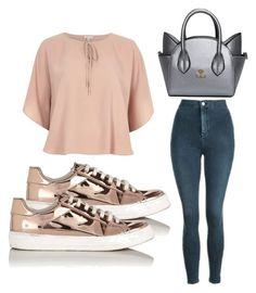 """""""Untitled #3499"""" by evalentina92 ❤ liked on Polyvore featuring Topshop, Miss Selfridge and River Island"""