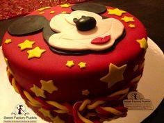Pastel Mickey Mousse Sweet Factory Puebla Chef Luciana Proietti Cake´s Designer