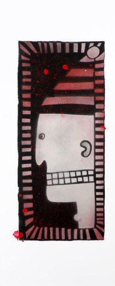 Dwarf Chess stencil art spray painting by SlumsiTutka on Etsy