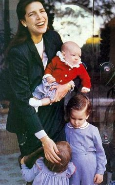 Princess Caroline and children