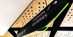 BrandCulture | Mirvac: Greenwood | Wayfinding signage, edge lit acrylic