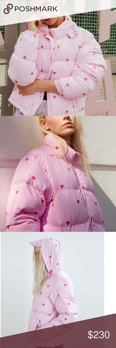 Lazy oaf romance punk puffer jacket 100%authentic, brand new never been worn ! Lazy Oaf Jackets & Coats Puffers