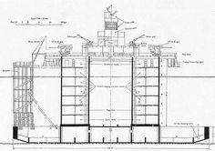 Naval fort elevation