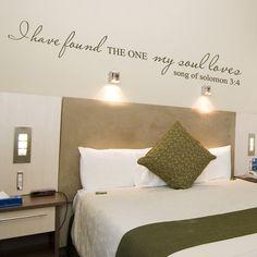 Girl Bedroom Walls, Wall Decals For Bedroom, Master Bedroom, Bedroom Decor, Wall Decor, Bedroom Ideas, Master Suite, Vinyl Wall Quotes, Wall Vinyl