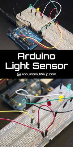 An Arduino light sensor is perfect in situations where you need to know how bright or dark it is. You could use this sensor in something such as a light activated alarm clock or camera.