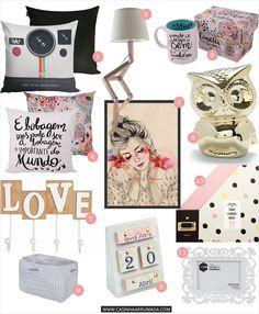 Compras: itens de decoração para o #quartonovo - Casinha Arrumada