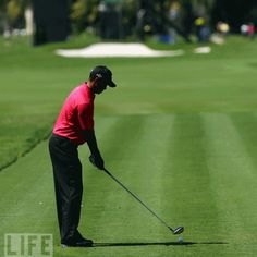 Tiger Woods 2009 Swing Sequence GIF