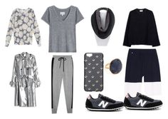 """""""GRAY"""" by donna-wang1 ❤ liked on Polyvore featuring Barrie, Current/Elliott, Acne Studios, Markus Lupfer, Marc Jacobs, Wildfox, 3.1 Phillip Lim and NAKAMOL"""