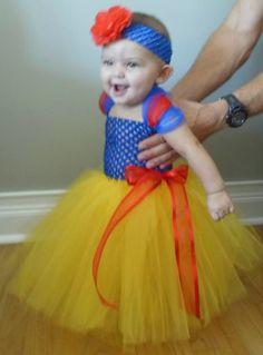 Snow White tutu Halloween Costume on Etsy, $35.00