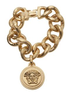 VERSACE - Medusa charm bracelet 7