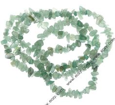 Solid Gemstone Crystal Tumble Chip Beads Necklace Bracelet Jewelry Findings Green