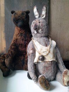 Купить ЛЮЛЬ. Заяц Тедди. Друг Тедди - мишка, тедди, заяц тедди, друзья тедди