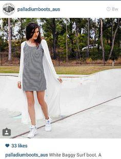 Palladium Baggies #palladium #baggies #boots #sneakers #white #monochrome #shoes
