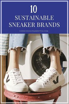 10 Eco Sneaker Brands With Cool and Conscious Kicks for Women and Men. These bra. 10 Eco Sneaker B Ethical Shoes, Ethical Clothing, Eco Clothing, Vegan Clothing, Sustainable Clothing Brands, Sustainable Fashion, Cool Clothing Brands, Sustainable Companies, Clothing Stores
