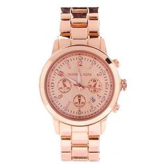 Michael Kors Chronograph Rose Golden Watches Are High Quality And Cheap Price!.