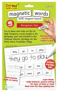 Fiesta Crafts - DooWell Magnetic First Words (Reception year)