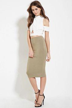 Contemporary Pencil Skirt #f21contemporary